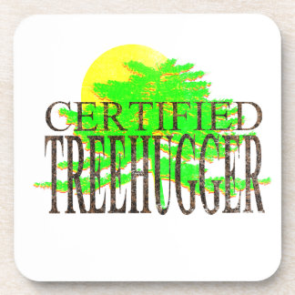 Certified Treehugger Beverage Coaster