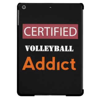 Certified Volleyball Addict Case For iPad Air