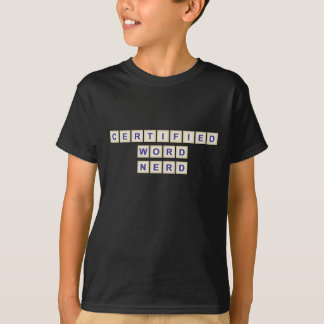 Certified Word Nerd T-Shirt