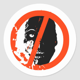 Certified Zombie Free Stickers