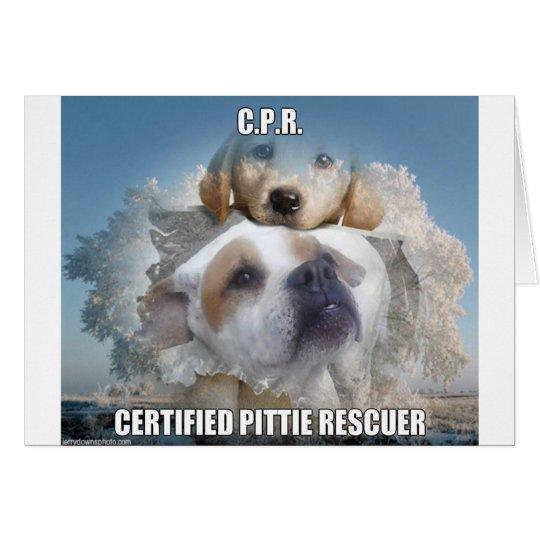 certifiedpittie.jpg tarjeta de felicitación