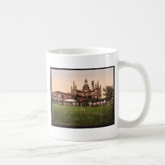 Certosa di Pavia, the back, Milan, Italy vintage P Mugs
