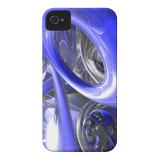 Cerulean Abstract Blackberry Bold Case