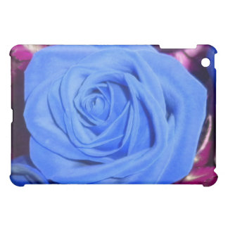 Cerulean Blue Rose ipad case