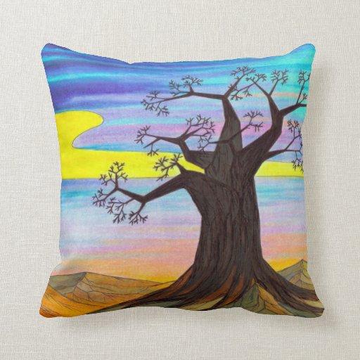 Cerulean Blue Throw Pillows : Cerulean Blue - Throw Pillow Zazzle