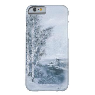 """Cerulean Blue Winter"" iPhone 6/6s Case"