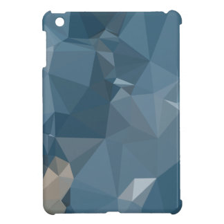 Cerulean Frost Blue Abstract Low Polygon Backgroun Case For The iPad Mini