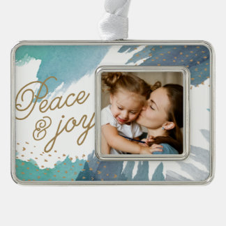 Cerulean Holiday Christmas Ornament