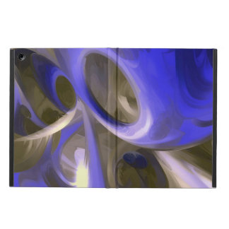 Cerulean Pastel Abstract iPad Air Case