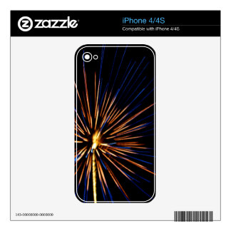 Cerulean Sparkles Decals For The iPhone 4S