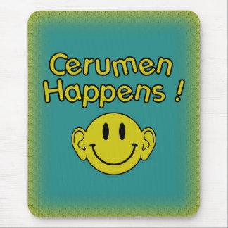 Cerumen does happen mouse pad