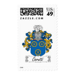 Cerutti Family Crest Stamp