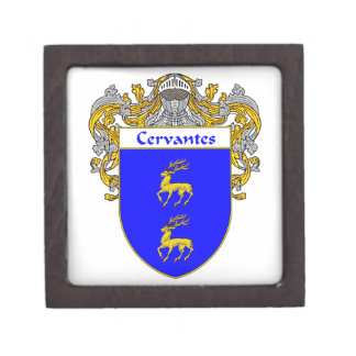 Cervantes Coat of Arms/Family Crest Gift Box
