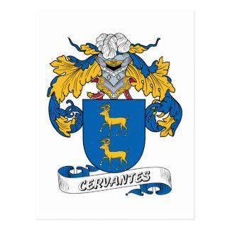 Cervantes Family Crest Postcard