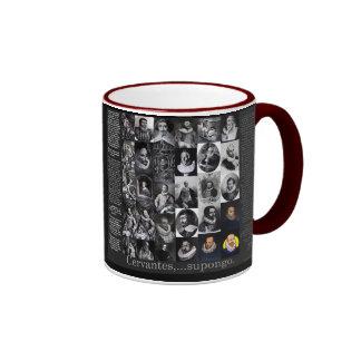 Cervantes...supongo Ringer Coffee Mug