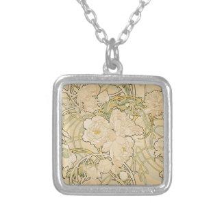 Cervatillo 1897 de los rosas del Peony de los Colgante Cuadrado