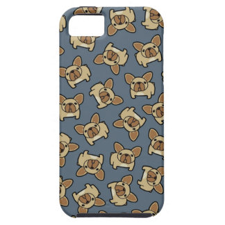Cervatillo Frenchie iPhone 5 Protectores