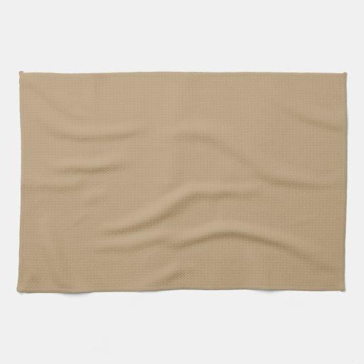 Cervatillo marrón claro toalla de mano