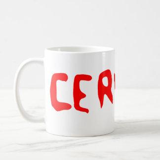 Cerveau Classic White Coffee Mug