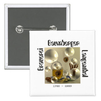 Cervecería Baumberger Langenthal Button Pin