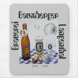 Cervecería Baumberger Langenthal Mauspad Alfombrillas De Ratones