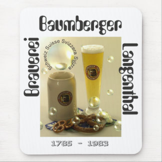 Cervecería Baumberger Langenthal Mauspad Mouse Pad