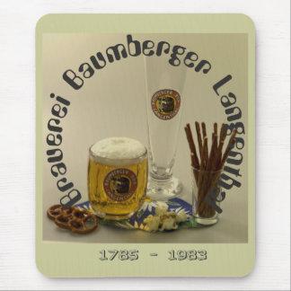 Cervecería Baumberger Langenthal Mauspad Mouse Pads