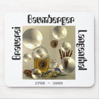 Cervecería Baumberger Langenthal Mauspad Mousepads