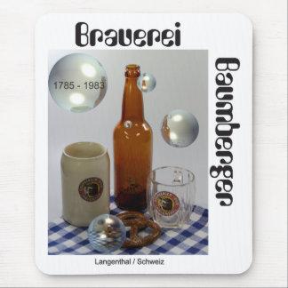 Cervecería Baumberger Langenthal Mauspad Tapetes De Ratón