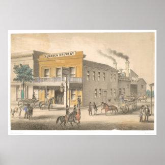 Cervecería de Almaden (0017B) Poster