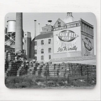 Cervecería de Minneapolis los años 30 Tapetes De Ratón