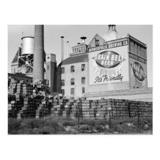 Cervecería de Minneapolis, los años 30 Tarjetas Postales