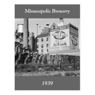 Cervecería de Minneapolis, los años 30 Postal