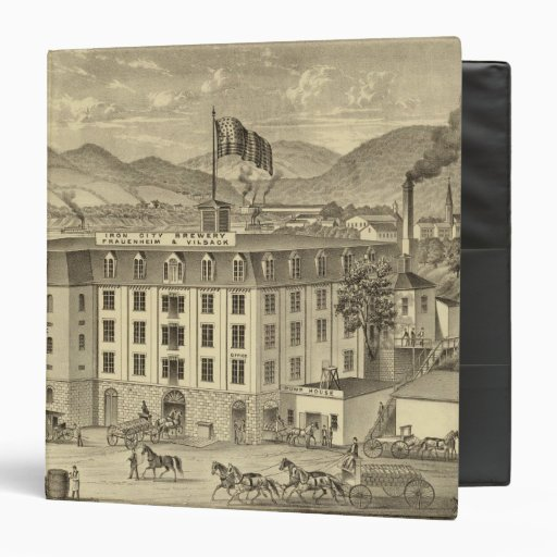 Cervecería, Frauenheim y Vilsack de la ciudad del
