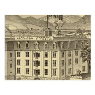 Cervecería, Frauenheim y Vilsack de la ciudad del  Postales