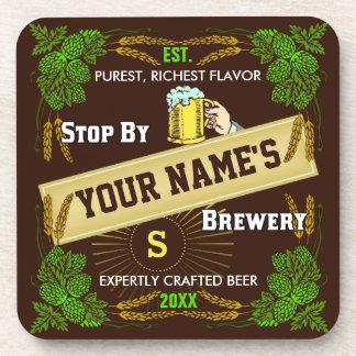 Cervecería personalizada: Cerveza de la cebada de Posavasos