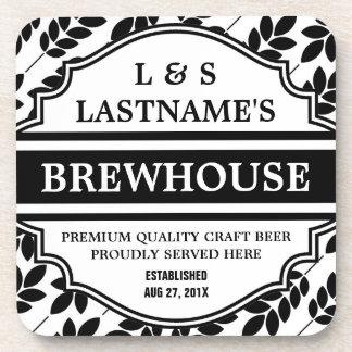 Cervecería personalizada divertida para el cervece posavasos de bebida