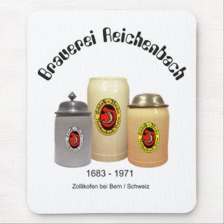 Cervecería Reichenbach Berna Mauspad Tapete De Raton