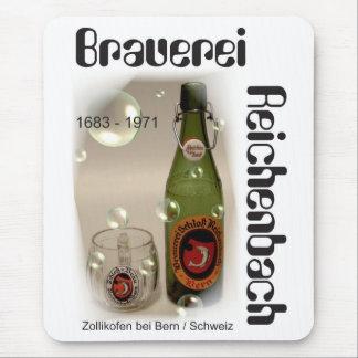 Cervecería Reichenbach Berna Mauspad Tapete De Ratones