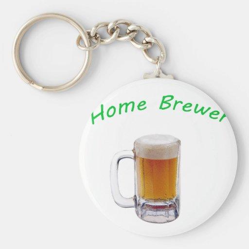 Cervecero casero llavero