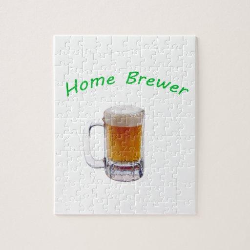 Cervecero casero rompecabeza