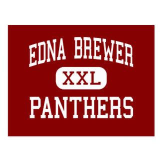 Cervecero de Edna - panteras - joven - Oakland Tarjeta Postal