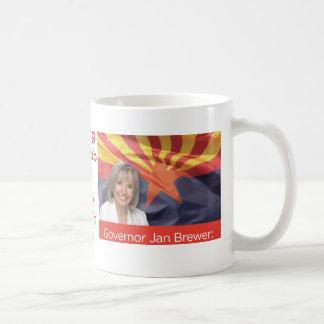 Cervecero de enero del gobernador de Arizona Tazas De Café
