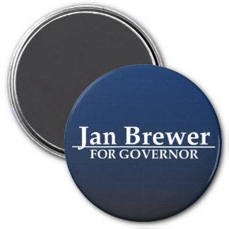 Cervecero de enero para el gobernador imanes para frigoríficos