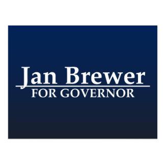 Cervecero de enero para el gobernador postales