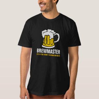 Cervecero de la cerveza de Brewmaster Remera
