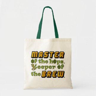 Cervecero de la cerveza del brew casero bolsa tela barata