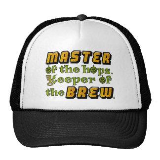 Cervecero de la cerveza del brew casero gorro de camionero