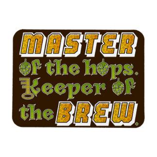 Cervecero de la cerveza del brew casero imanes flexibles
