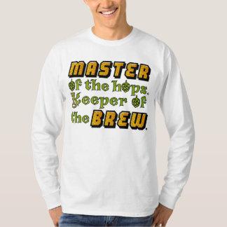 Cervecero de la cerveza del brew casero playera